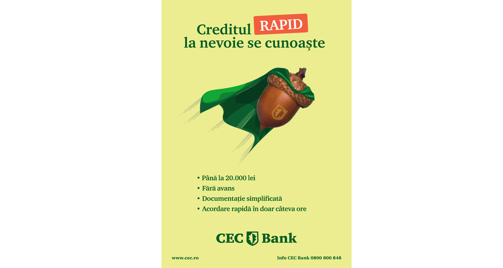 Credit online cec bank