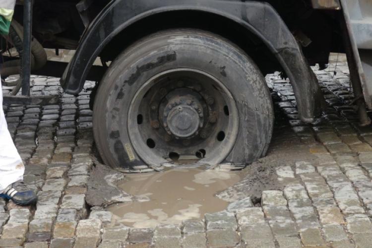 In urma cu o saptamana, un caz similar s-a petrecut pe strada Transilvania